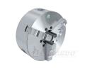 Stezna glava za strug za metal Ø 200 mm 3 pakna centralno stezanje DIN 6350 - livena